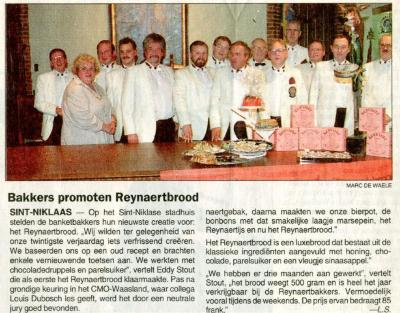 Reynaertspel 1992, Reynaertbrood