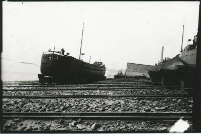 Scheepswerf Maes (11): schip te water gelaten
