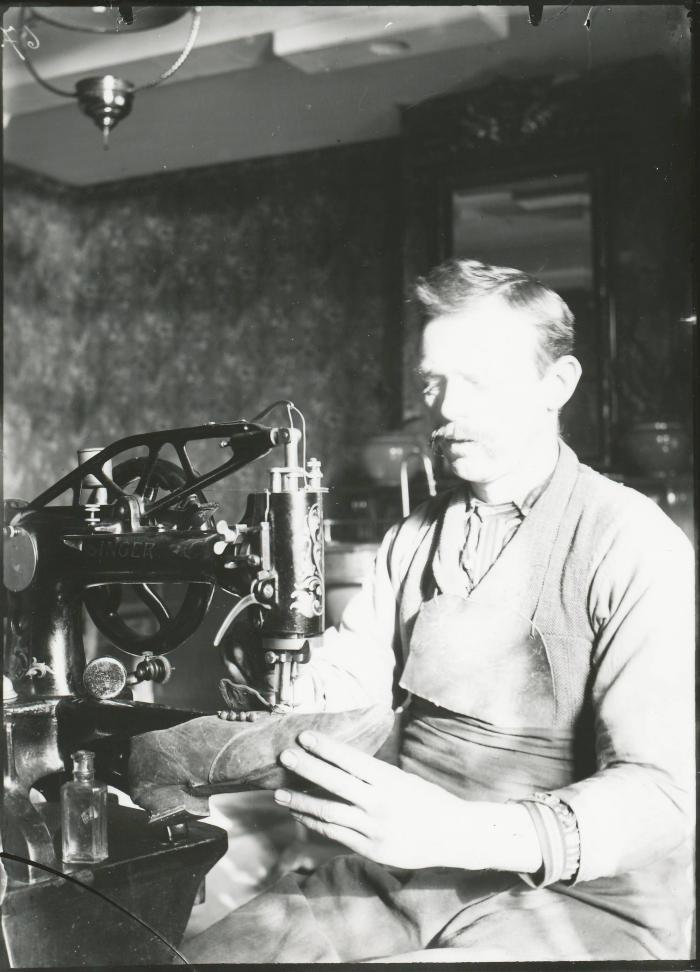 Burchtse Zelfstandigen (2): schoenmaker