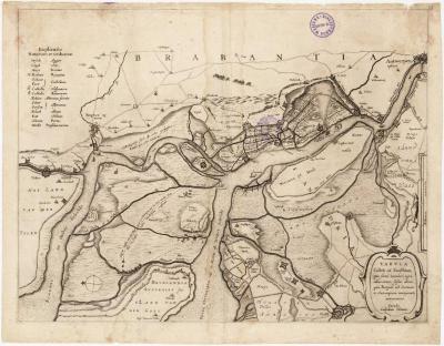 Popp-kaart: Plan parcellaire de la commune de Elversele avec les mutations