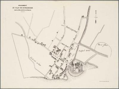 Fragment du plan de Rupelmonde