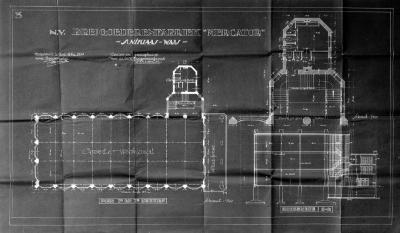Breigoedfabriek Mercator: plattegrond