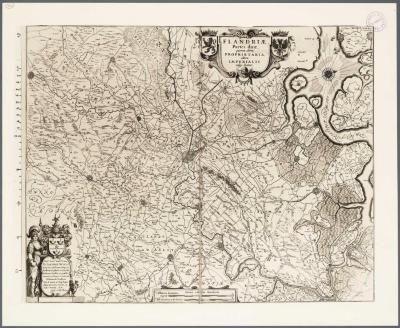 Flandria partes duae quarum altera proprietaria altera imperialis vulgo dicitur
