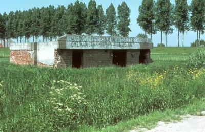 Bunker in de Fortstraat, Doel