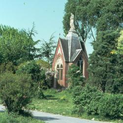 Kapelletje in het park van Doel