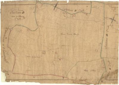 Kadastrale kaart van Beveren