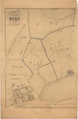 Popp-kaart: Atlas cadastral de Belgique - Commune de DOEL
