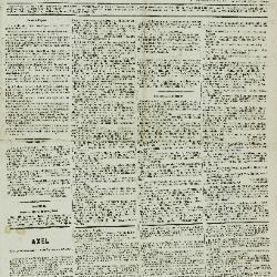 De Klok van het Land van Waes 23/12/1888