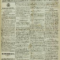 De Klok van het Land van Waes 15/04/1883