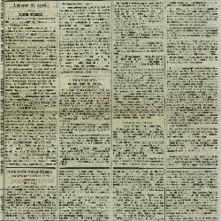 Gazette van Lokeren 23/04/1871