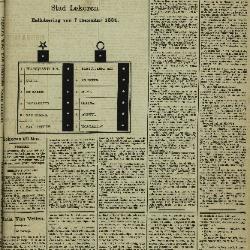 Gazette van Lokeren 30/11/1884