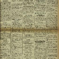 Gazette Van Lokeren 26/05/1889