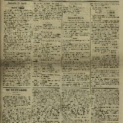 Gazette van Lokeren 28/04/1872