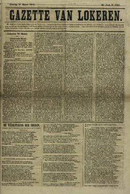 Gazette van Lokeren 31/03/1872