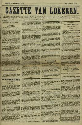Gazette van Lokeren 29/12/1872