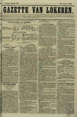 Gazette van Lokeren 08/03/1868