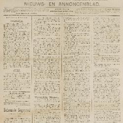 Gazette van Beveren-Waas 13/04/1890