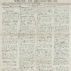 Gazette van Beveren-Waas 28/04/1889