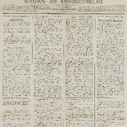 Gazette van Beveren-Waas 16/11/1890