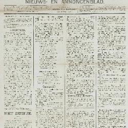 Gazette van Beveren-Waas 27/12/1891