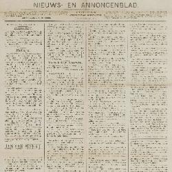 Gazette van Beveren-Waas 09/11/1890