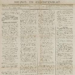 Gazette van Beveren-Waas 14/12/1890