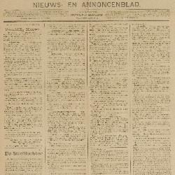 Gazette van Beveren-Waas 15/11/1896