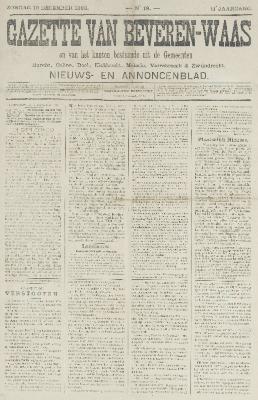 Gazette van Beveren-Waas 10/12/1893