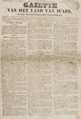 Gazette van het Land van Waes 17/05/1846