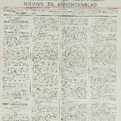 Gazette van Beveren-Waas 28/07/1889