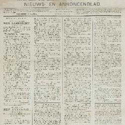 Gazette van Beveren-Waas 21/07/1889