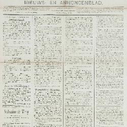 Gazette van Beveren-Waas 27/01/1889