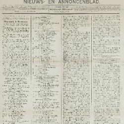 Gazette van Beveren-Waas 15/09/1889