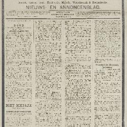 Gazette van Beveren-Waas 27/11/1892