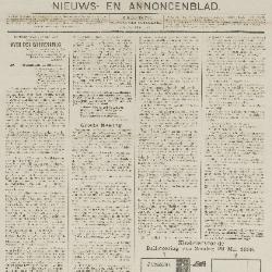 Gazette van Beveren-Waas 29/05/1898