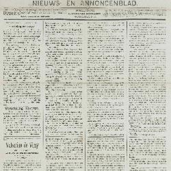 Gazette van Beveren-Waas 20/01/1889