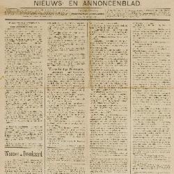 Gazette van Beveren-Waas 25/10/1896