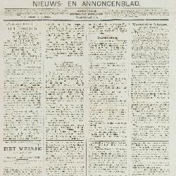 Gazette van Beveren-Waas 15/01/1893