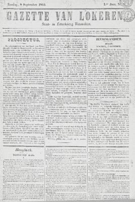Gazette van Lokeren 08/09/1844