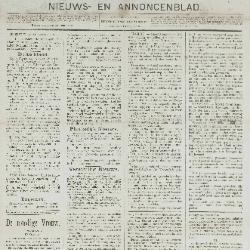 Gazette van Beveren-Waas 15/12/1889