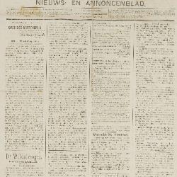 Gazette van Beveren-Waas 31/07/1898