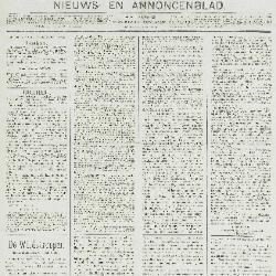 Gazette van Beveren-Waas 20/11/1898