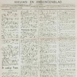 Gazette van Beveren-Waas 20/10/1889