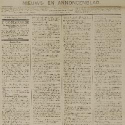 Gazette van Beveren-Waas 16/03/1890