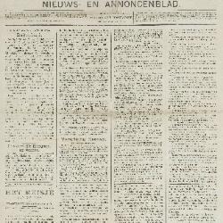 Gazette van Beveren-Waas 22/01/1893