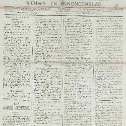 Gazette van Beveren-Waas 30/01/1887