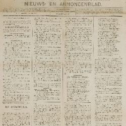 Gazette van Beveren-Waas 21/12/1890