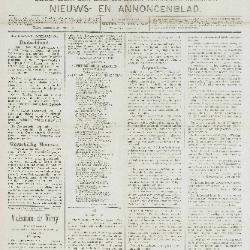 Gazette van Beveren-Waas 17/02/1889