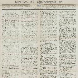 Gazette van Beveren-Waas 16/06/1889