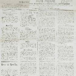 Gazette van Beveren-Waas 22/02/1885